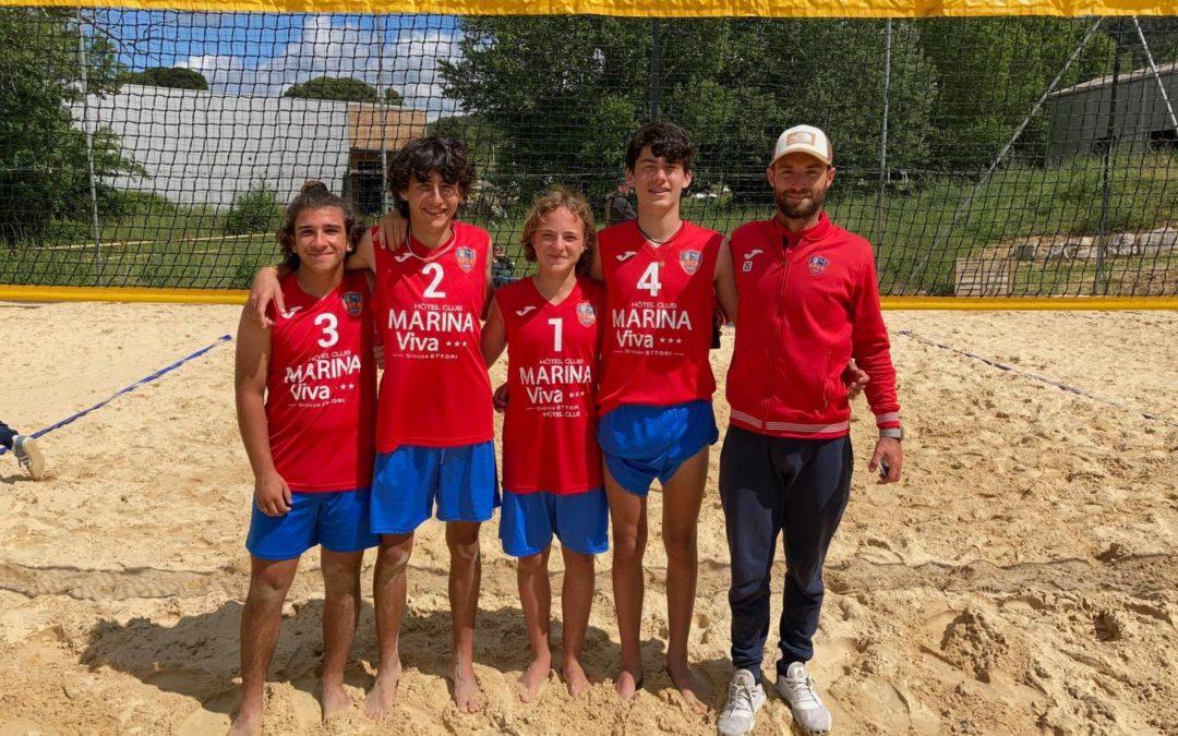 GFCA ACADEMIA |Coupe de France de Beach Volley M15